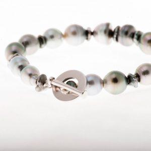 Perles Keishis et hématites carrées